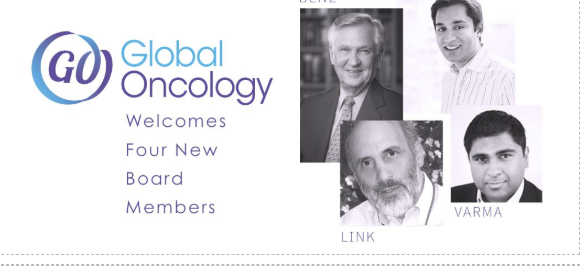 Global Oncology Welcomes New Board Members